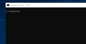 zoeken ip adres router - ipconfig